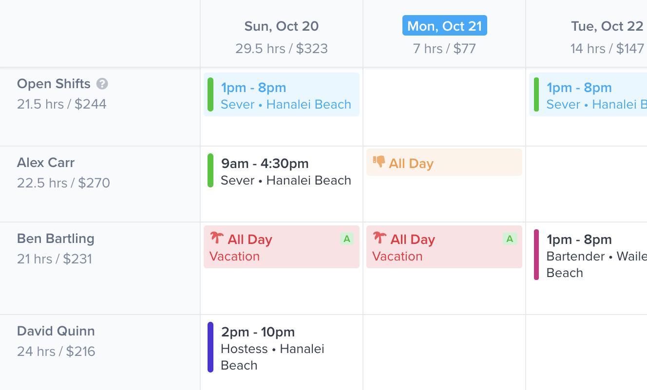 Schedule faster